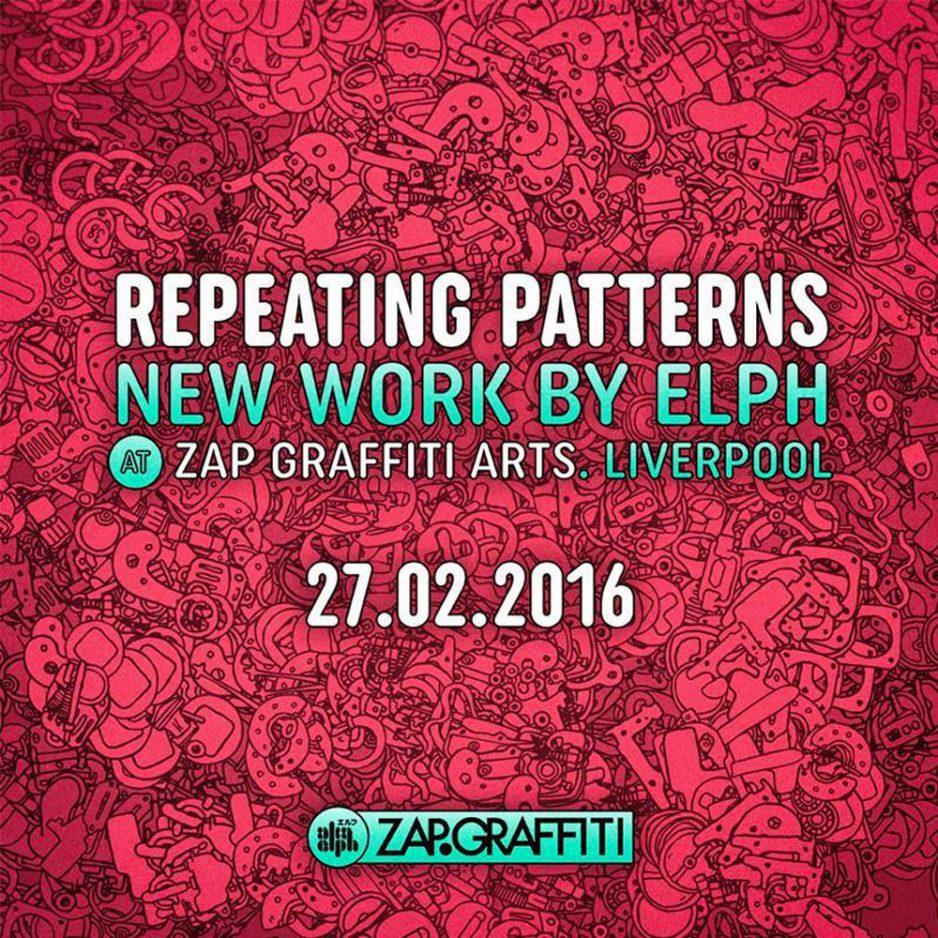 Repeating Patterns. Zap Graffiti